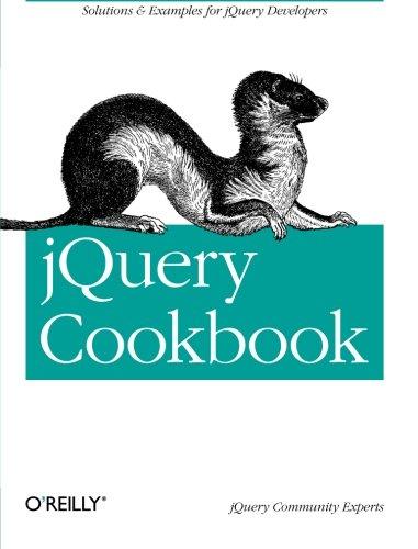 9780596159771: jQuery Cookbook