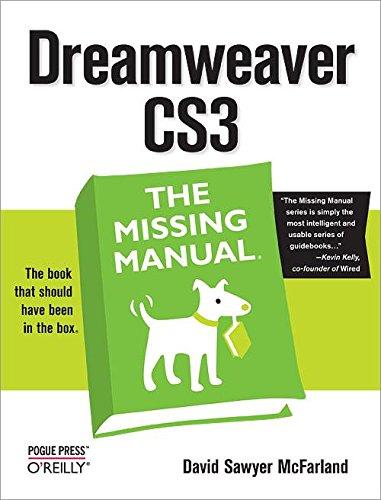 9780596510435: Dreamweaver CS3: The Missing Manual
