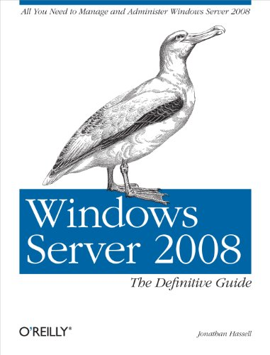 9780596514112: Windows Server 2008: The Definitive Guide