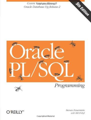 9780596514464: Oracle PL/SQL Programming