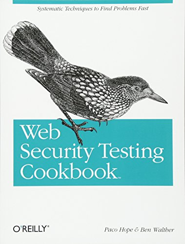9780596514839: Web Security Testing Cookbook