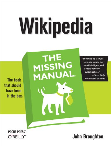 9780596515164: Wikipedia: The Missing Manual