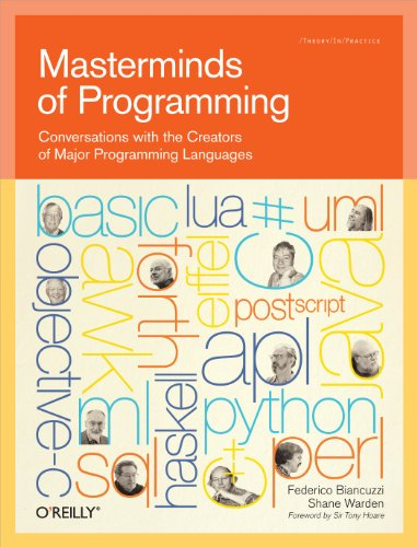 9780596515171: Masterminds of Programming: Conversations with the Creators of Major Programming Languages (Theory in Practice (O'Reilly))