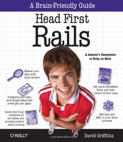 9780596515775: Head First Rails: A learner's companion to Ruby on Rails