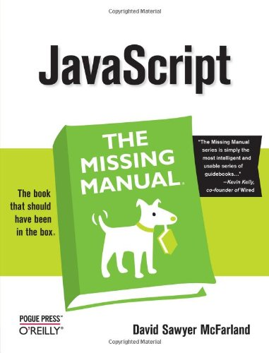 9780596515898: JavaScript: The Missing Manual