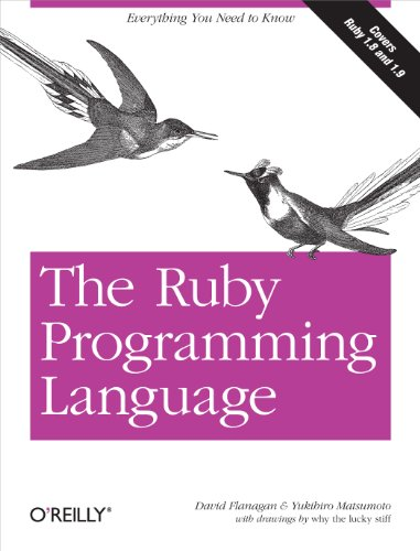 9780596516178: The Ruby Programming Language: Everything You Need to Know