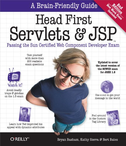 9780596516680: Head First Servlets and JSP: Passing the Sun Certified Web Component Developer Exam