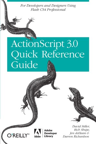 9780596517359: The ActionScript 3.0 Quick Reference Guide: For Developers and Designers Using Flash: For Developers and Designers Using Flash CS4 Professional (Adobe Developer Library)