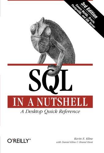 9780596518844: SQL in a Nutshell (In a Nutshell (O'Reilly))