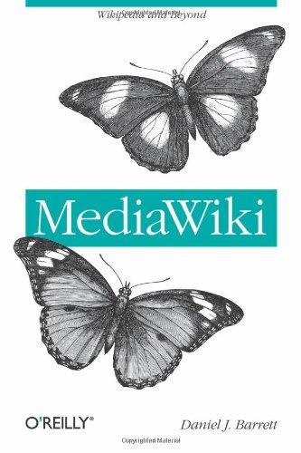9780596519797: MediaWiki (Wikipedia and Beyond)
