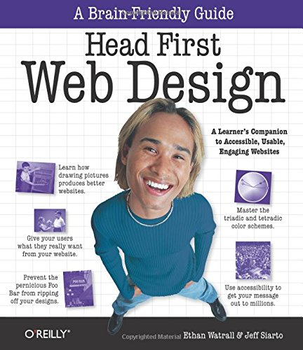 9780596520304: Head First Web Design (A Brain Friendly Guide)