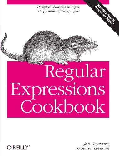 9780596520687: Regular Expressions Cookbook