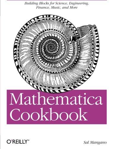 Cookbook: Mathematica Cookbook: Salvatore Mangano