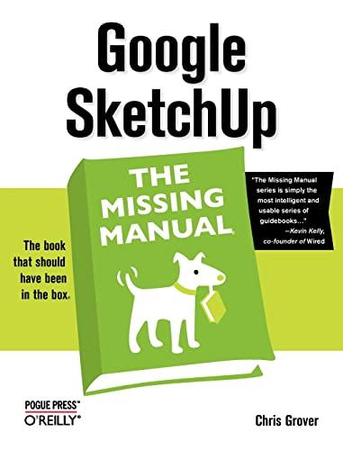9780596521462: Google SketchUp: The Missing Manual