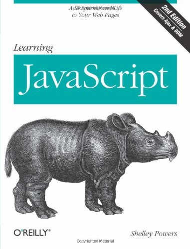 9780596521875: Learning JavaScript: Add Sparkle and Life to Your Web Pages