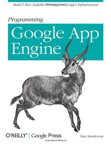 9780596522728: Programming Google App Engine
