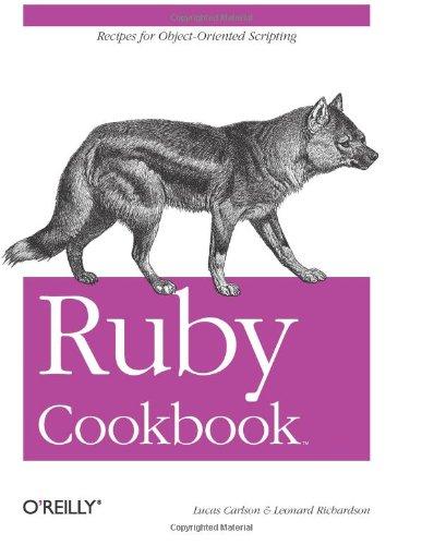 9780596523695: Ruby Cookbook (Cookbooks (O'Reilly))