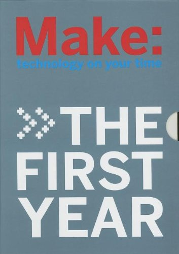 9780596526771: Make: The First Year (4 vol. set)