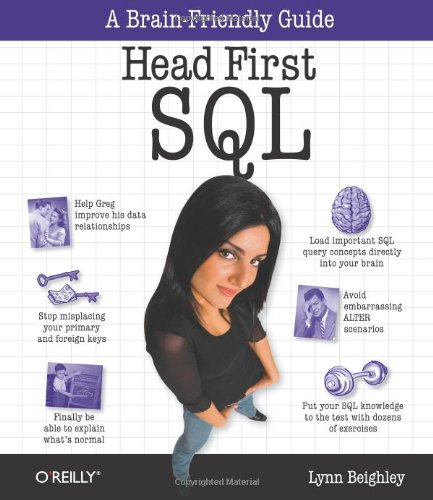 9780596526849: Head First SQL: Your Brain on SQL -- A Learner's Guide