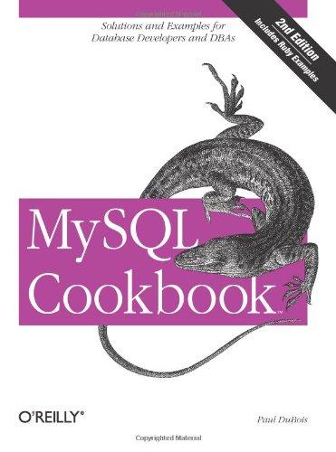 9780596527082: MySQL Cookbook