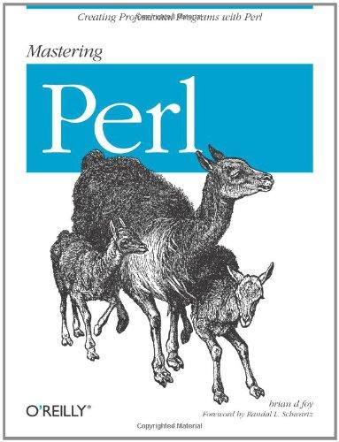 9780596527242: Mastering Perl