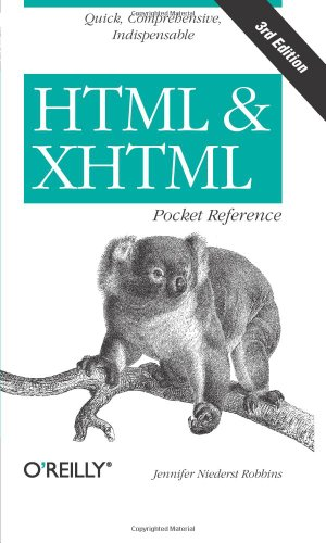 9780596527273: HTML and XHTML Pocket Reference (Pocket Reference (O'Reilly))
