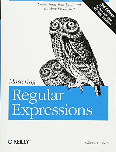 9780596528126: Mastering Regular Expressions 3e