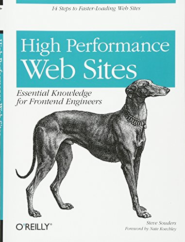 9780596529307: High Performance Web Sites: Essential Knowledge for Front-End Engineers