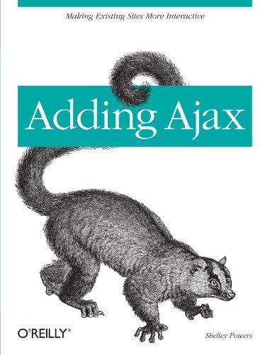 9780596529369: Adding Ajax