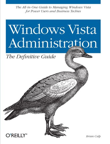 9780596529598: Windows Vista Administration: The Definitive Guide
