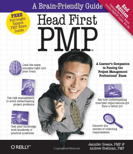 9780596801915: Head First PMP: A Brain-Friendly Guide to Passing the Project Management Professional Exam