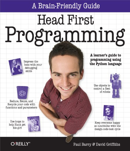 9780596802370: Head First Programming: A learner's guide to programming using the Python language