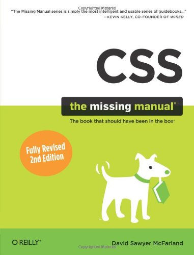 9780596802448: CSS: The Missing Manual (Missing Manuals)