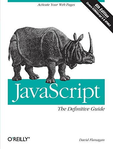 9780596805524: JavaScript: The Definitive Guide (Definitive Guides)