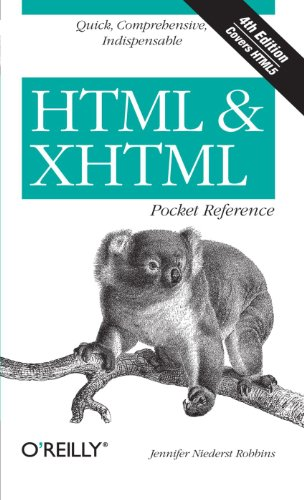 9780596805869: HTML and XHTML Pocket Reference