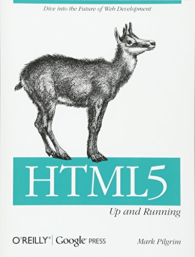 9780596806026: HTML5: Up and Running: Dive into the Future of Web Development