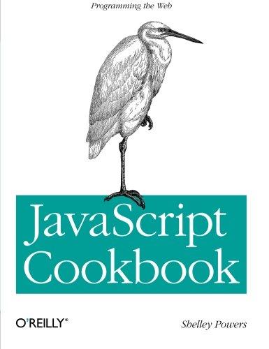 9780596806132: JavaScript Cookbook