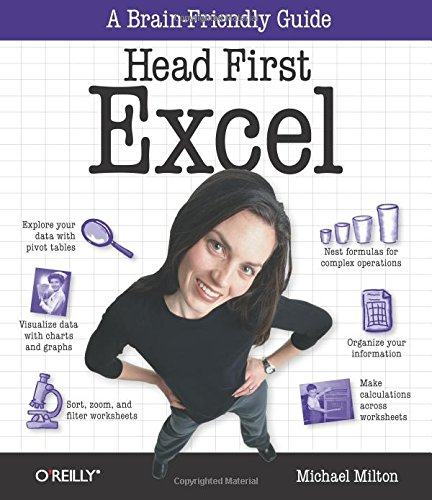 9780596807696: Head First Excel: A learner's guide to spreadsheets
