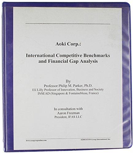 9780597007460: AOKI INTERNATIONAL CO., LTD.: International Competitive Benchmarks and Financial Gap Analysis (Financial Performance Series)