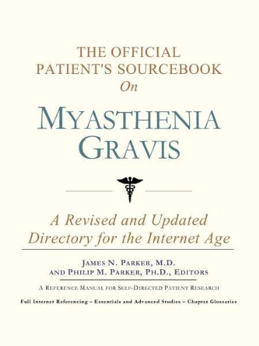 9780597830761: The Official Patient's Sourcebook on Myasthenia Gravis: A Revised and Updated Directory for the Internet Age