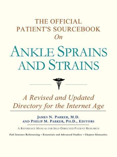 9780597832093: The Official Patient's Sourcebook on Ankle Sprains and Strains
