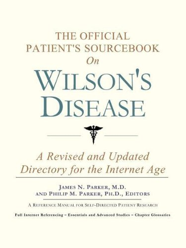 9780597834110: The Official Patient's Sourcebook on Wilson's Disease: A Revised and Updated Directory for the Internet Age