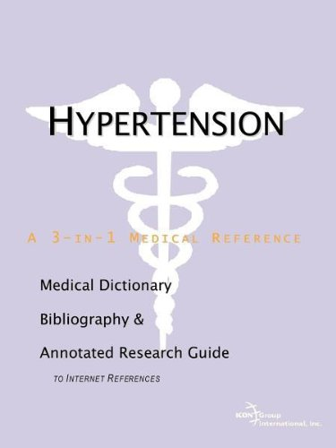 9780597836572: Hypertension - A Medical Dictionary, Bibliography, and Annotated Research Guide to Internet References