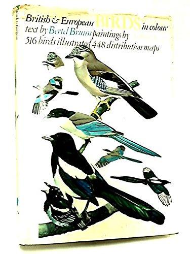 British & European Birds in Colour: Bruun, Bertel