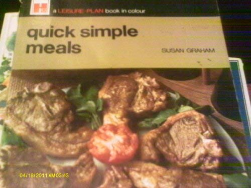 Quick Simple Meals. (Leisure Plan) (0600013545) by Graham, Susan