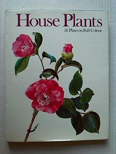 House Plants: 56 Plates in Full Colour: Oplt, J.