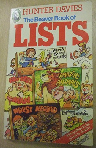 9780600203940: Beaver Book of Lists (Beaver Books)