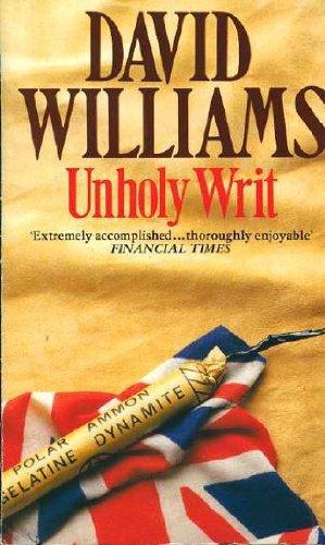 Unholy Writ (A Hamlyn whodunnit) (0600206173) by DAVID WILLIAMS