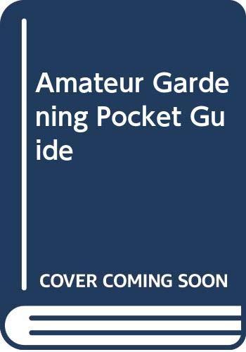 """9780600300700: """"Amateur Gardening"""" Pocket Guide"""