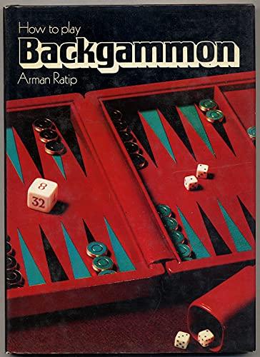 9780600313946: How to Play Backgammon